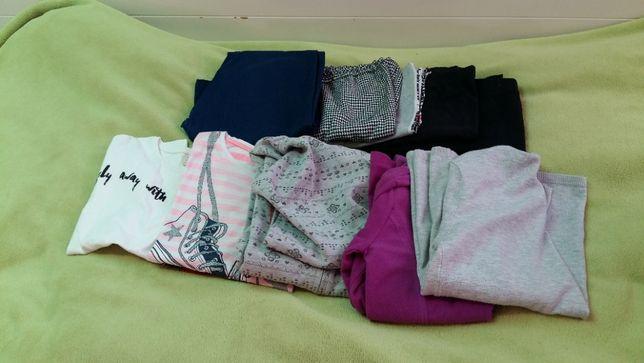 Zestaw 10 ubrań dla dziewczynki