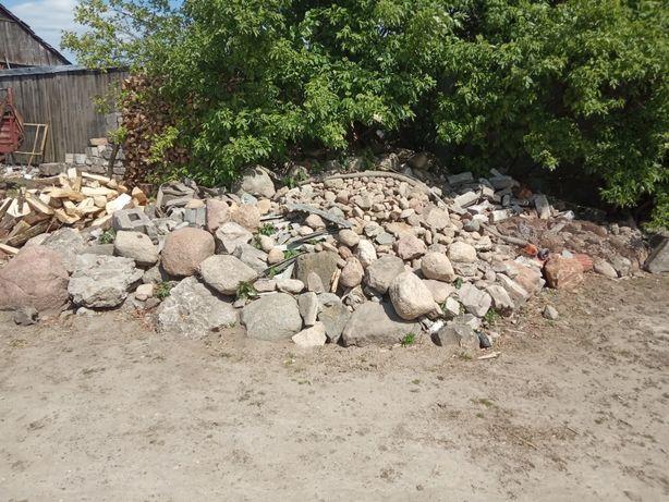 Oddam za darmo kamienie NA OCZKO WODNE za uprzątnięcie terenu 10TON