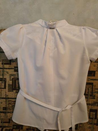 Блузка школьная размер S