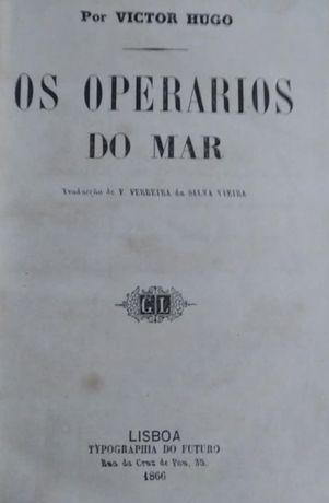 Os Operarios do Mar - 1866 Por: Victor Hugo