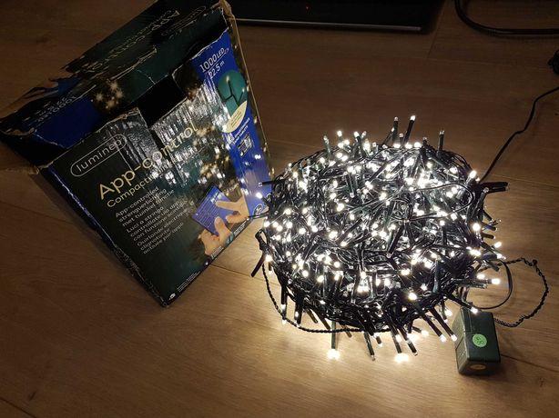 Lampki na choinkę 22,5m 1000led lumineo app-control