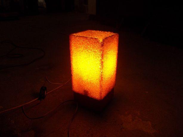Stara kultowa lampka nocna PRL sprawna
