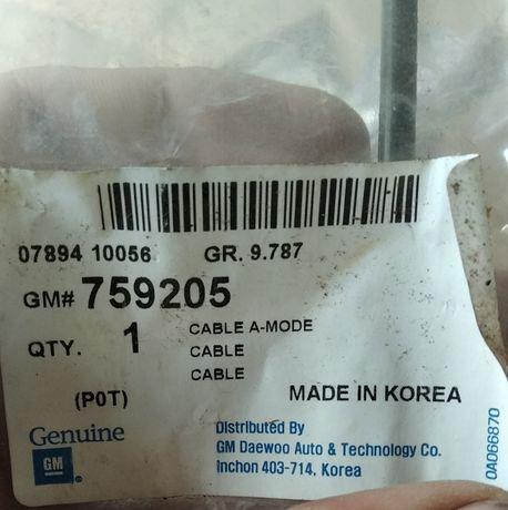 Трос печки отопителя ланос сенс 759205 gm