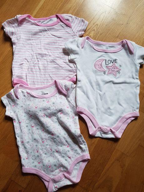 Body niemowlęce 6-9m 3sztuki