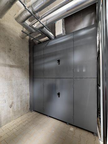 Metalowe zabudowy szafy garażowe boxy komórki lokatorskie na wymiar