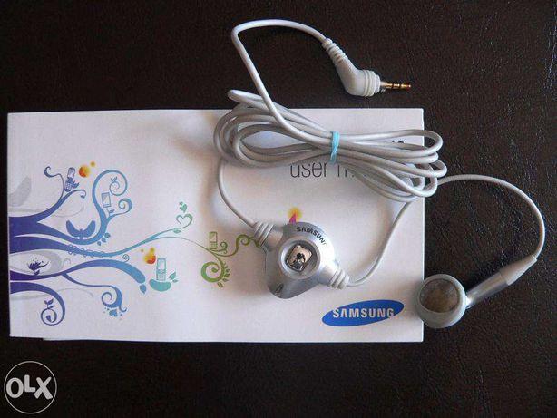 Auricular mãos livres Samsung NOVOS