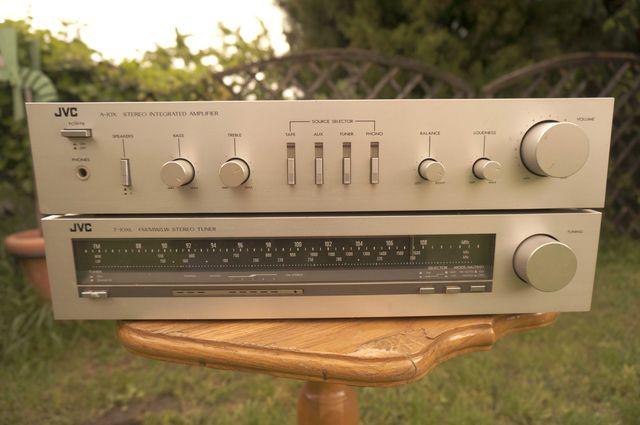 Wzmacniacz JVC A-10X + Tuner FM JVC T-10XL Vintage