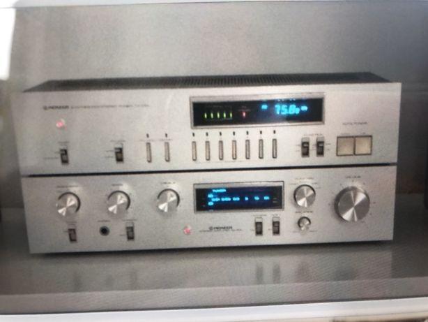 Pioneer wzmacniacz SA510 tuner radio TX710