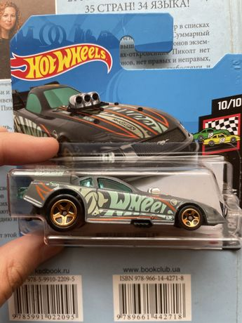 hot wheels TH Mustang funny car