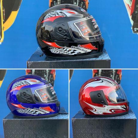 Шлем для скутера Мотошлем Мото Шолом интеграл!!! Акция !!!