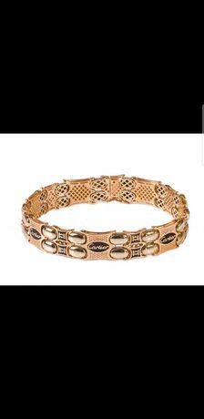 """Продам красивый и стильный мужской браслет """"Cartier"""" золото 585 проба"""