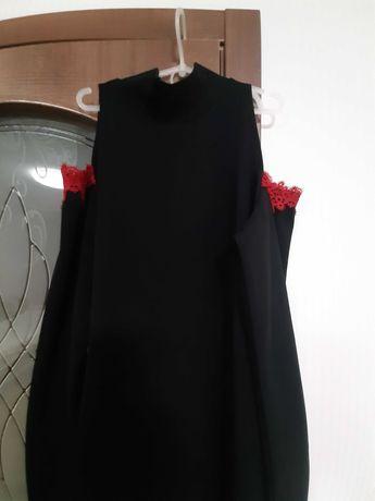 Плаття чорне нарядне р 46