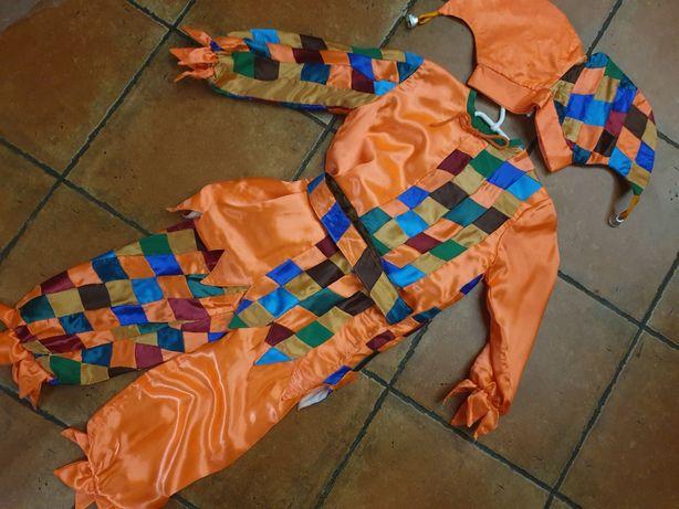 Распродажа карнавальный костюм Арлекин, шут, скоморох, петрушка