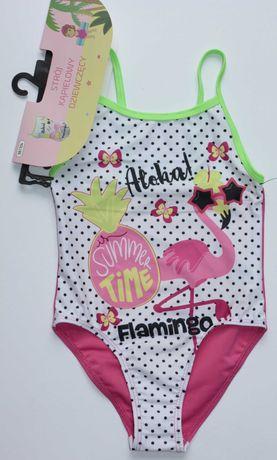 Flaming kostium strój kąpielowy dziewczęcy 98-104