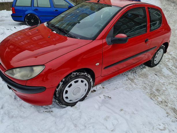 Peugeot 206 1.4hdi  opłaty 02.2022r
