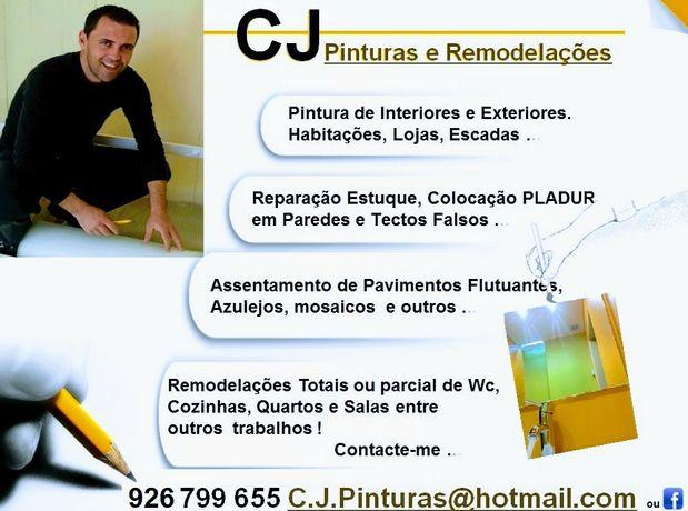 Pinturas & Remodelações CJ