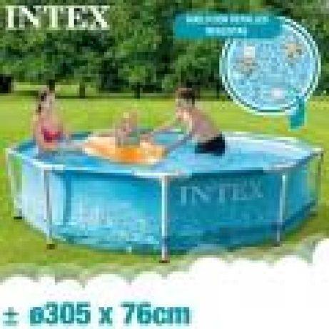 Piscina INTEX Frame Ø305cm X 76cm