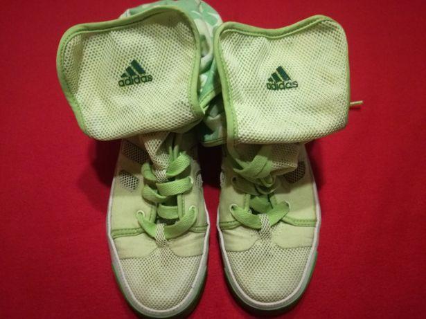 Wysokie trampki, za kostkę, firmy adidas, rozm. 36/37