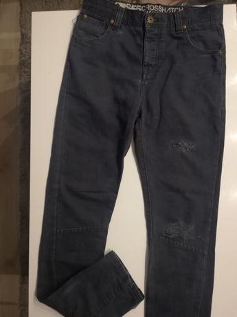30/34 cross spodnie meskie przetarcia