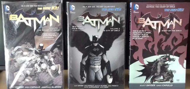 Livros Banda Desenhada Trilogia Batman Court of Owls