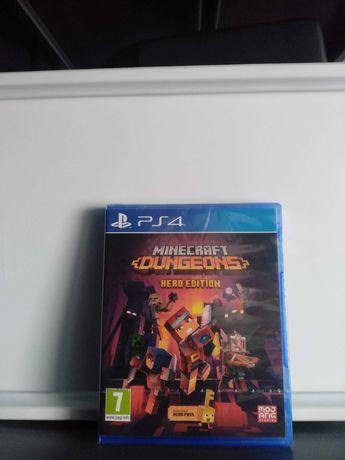 Minecraft Dungeons: Hero Edition PS4 (NOVO/SELADO)