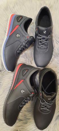 Мужские кожаные кроссовки ботинки распродажа остатков