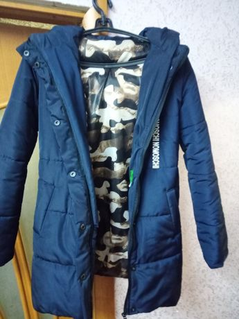 Курточка зимняя,новая,размер s.   Наполнитель синтепон 200