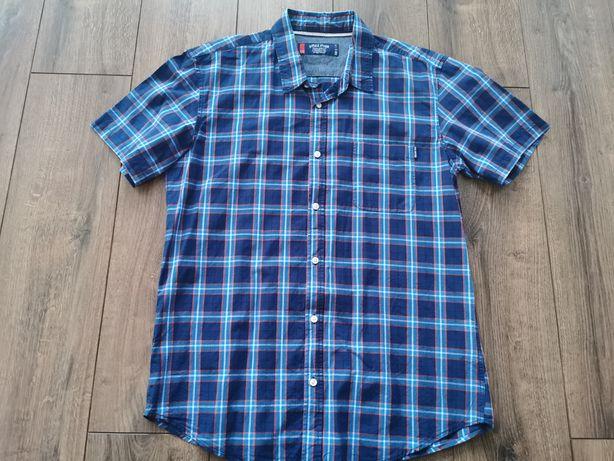 Koszula diverse XL krata krótki rękaw