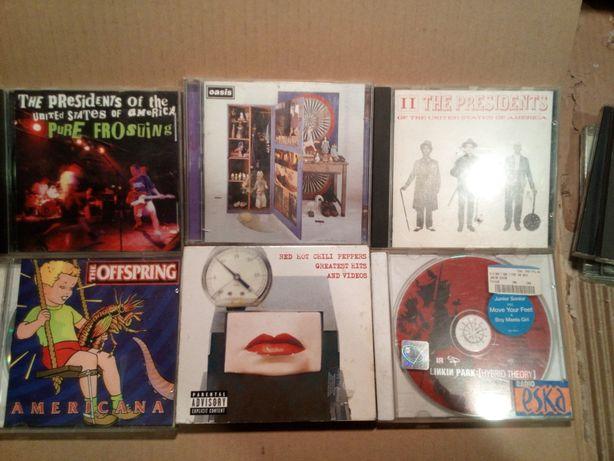 Zestaw 6 płyt CD new rock itp szarpidruty z UK
