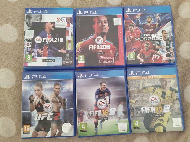 Jogos para a  PS4