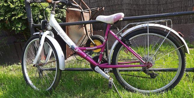 """Rower dla dziewczynki dziecięcy 16"""""""