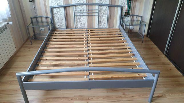 Łóżko 160x200 + 2 x stoliczki