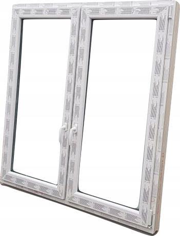 OKNA KacprzaK OKNO PCV 120X120 Nowe okno plastikowe