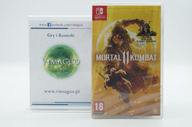 Nintendo SWITCH Mortal Kombat 11 Sklep VIMAGCO