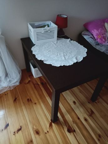 stolik! ciemny brąz
