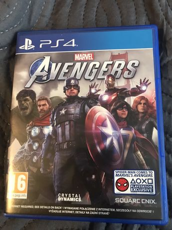 Marvel Avengers PS4 PL dubbing