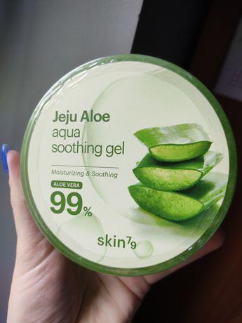 Skin79 żel aloesowy aloe jeju 300ml 99% aloesu żel nawilżający antybak