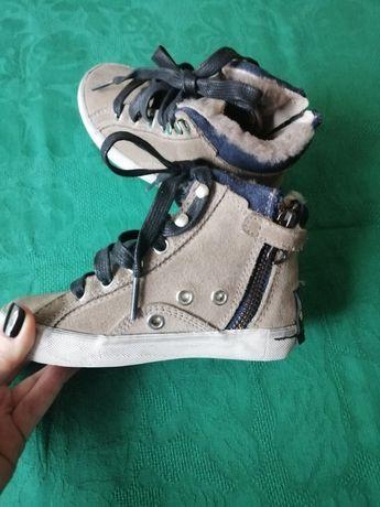 Суперские замшевые ботинки