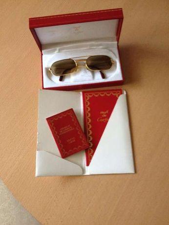Óculos de Must de Cartier, anos 80, autenticos, estão impecáveis