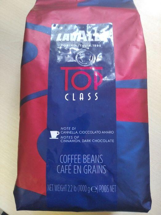Зерновой кофе LAVAZZA TOP CLASS, 1кг 90% арабики и 10% робусты Мариуполь - изображение 1