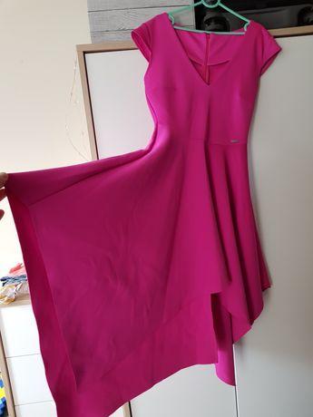 MOHITO sukienka fuksja r36