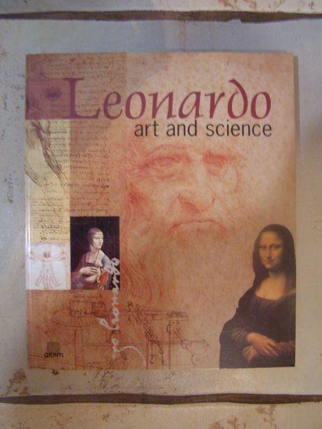 "Книга-Альбом на английском языке ""Leonardo Art and Science"". Giunti ."