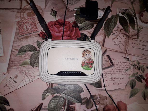 Беспроводной маршрутизатор (роутер) TP-Link TL-WR841N  +
