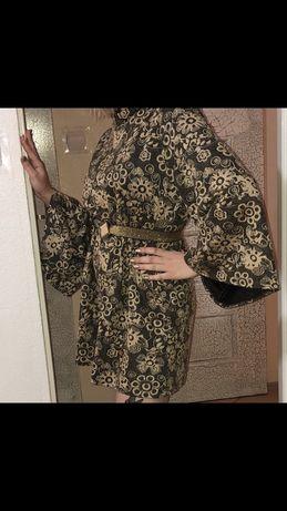 Piękna złota sukienka! Okazja