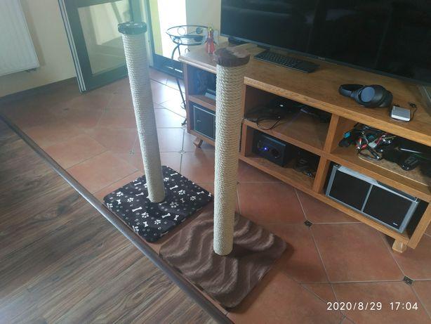 Drapak nowy dla kota 83cm wys liną sizalową 10mm