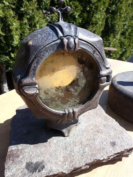 Stara lampa naftowa Znicz