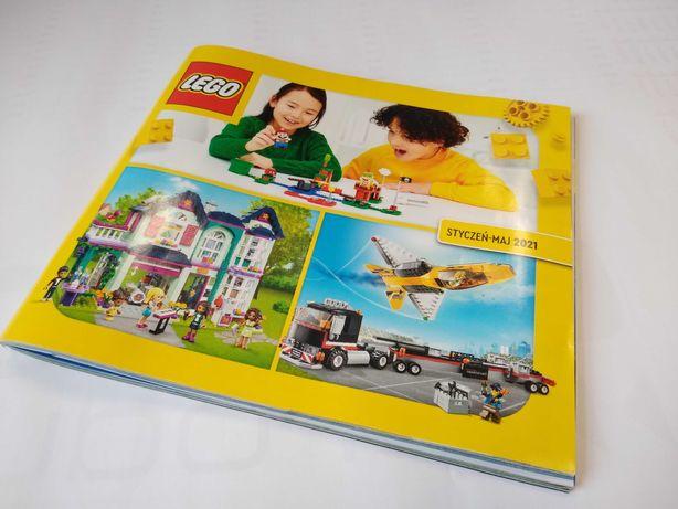 Katalog Lego 2021 styczeń - maj NOWY, klocki, figurki, ninjago, duplo