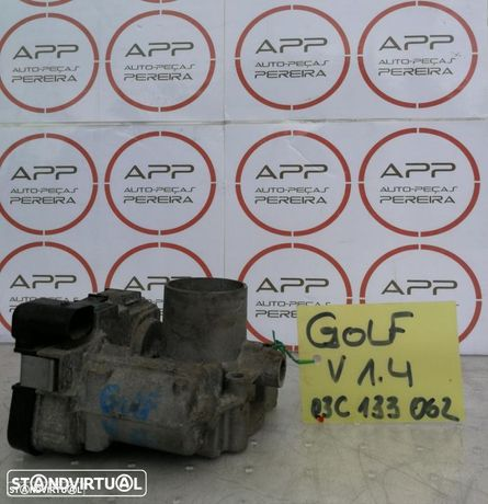 Borboleta de admissão VW Golf 5 1.4 16V, ref 036133062L