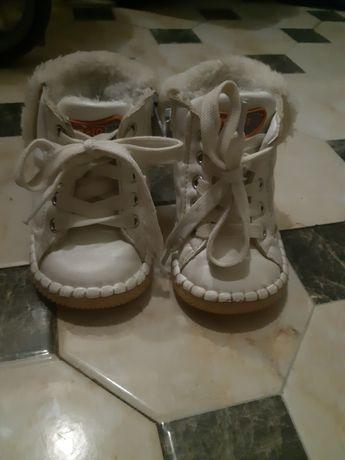 Зимові  чобітки з хутром