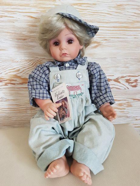 Duża Lalka kolekcjonerska Rackewitz Kinder w stanie idealnym